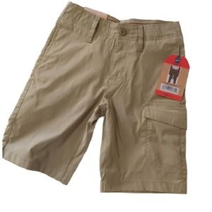 Weatherproof Vintage Boys Shorts Cargo Khaki 6 NEW